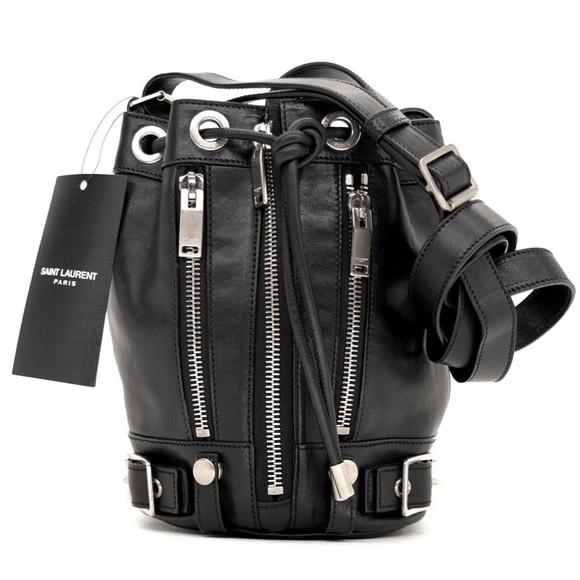 Saint Laurent Rider Bucket Shoulder Crossbody Bag d5deefd4104ea